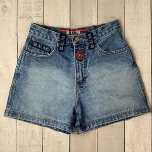 B.U.M. Equipment vintage 90s jean shorts